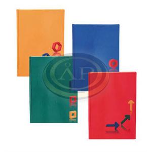 Beíró Educa A5 96lapos kockás egyszínű lakkozott kemény karton borítóval