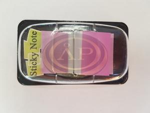 Jelölő címke lila,  25x45mm, 50 lap