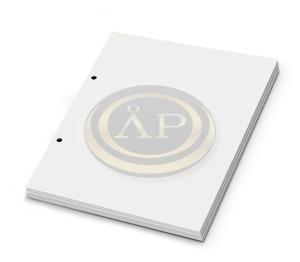 Gyűrűskönyvbetét A5 SIMA 50lapos, 2 lyukas