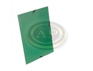 StarOffice Gumis mappa A/4, 15 mm-es gerinc színes zöld
