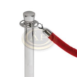 Kötél kordon oszlophoz 1500mm króm PIROS Jansen Display