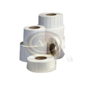Thermo címke 58x40mm FEHÉR 1000 címke/tekercs