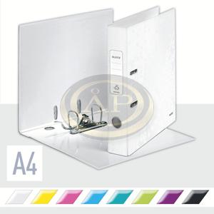 Iratrendező Leitz lakkfényű 180 fokos, 50mm, fehér 10060001