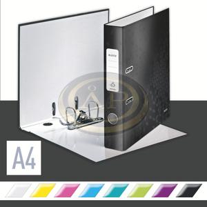 Leitz WOW karton 180° iratrendező, 52mm, fekete 10060095
