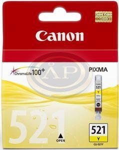 Tintapatron CLI-521 YELLOW CANON