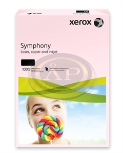 Xerox Symphony színes fénymásolópapír A/4 80g pasztell rózsa 500 ív/csomag