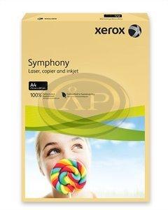 Xerox Symphony színes fénymásolópapír A/4 80g közép sárga 500 ív/csomag