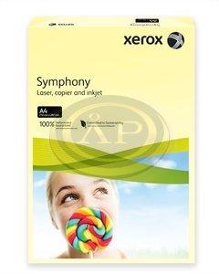 Xerox Symphony színes karton A/4 160g pasztell sárga 250ív/csomag