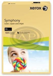 Xerox Symphony színes karton A/4 160g közép sárga 250ív/csomag