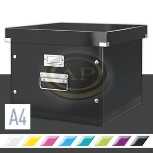Függőmappa tartó Leitz Click&Store, fekete 60460095