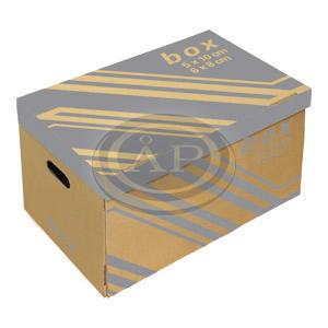 Archiváló konténer FORNAX 6x8cm vagy 5x10cm-es box tárolásához
