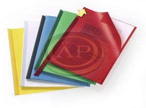 Iratsínborító A/4 azonos színű elő-hátlap