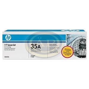 HP toner -35A- CB435A fekete 1,5k