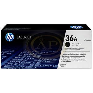 HP toner -36A- CB436A fekete 2k