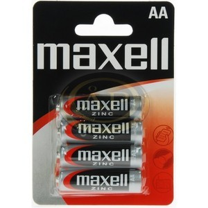Elem ceruza Maxell AA, féltartós, R6P, 4db/bliszter