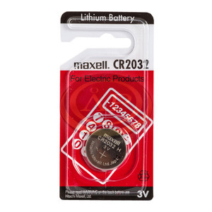 Gombelem Maxell CR2032 lithium
