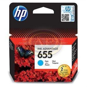 Tintapatron HP CZ110AE kék No.655 kék