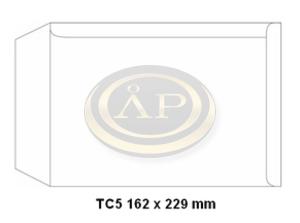 Boríték TC5 szilikon 162x229mm, bélésnyomatlan