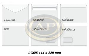 Boríték LC6/5 Enyvezett Goessler Novoform bélésnyomatlan