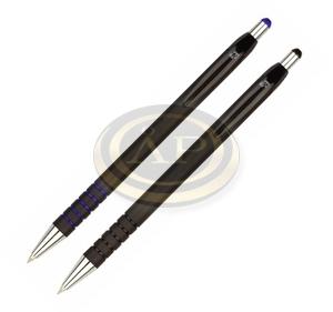 Golyóstoll Spoko 0118 fekete tolltest, kék íráskép