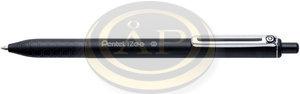 Pentel iZee nyomógombos golyóstoll 0.35mm fekete BX467-A