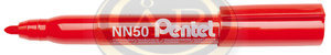 Pentel Marker alkoh kerek piros NN50-BO