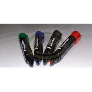 Permanent marker kék, vastag 1,5-3mm kerek végű