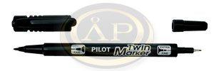 Pilot BeGreen kétvégű filc fekete