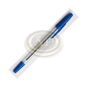 Golyóstoll Sakota eldobható, kupakos kék 0,5mm