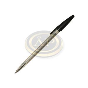 Golyóstoll Sakota eldobható, kupakos fekete 0,5mm