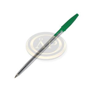Golyóstoll Sakota eldobható, kupakos zöld 0,5mm