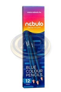 Színes ceruza Nebulo kék, háromszögletű