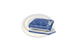 Lyukasztó SAX Design 218 kék max.12laphoz