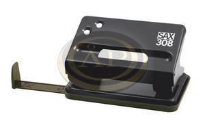 Lyukasztó SAX 308 fekete max.15laphoz