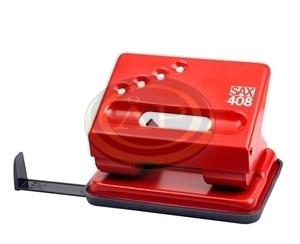 Lyukasztó SAX 408 piros max.30laphoz