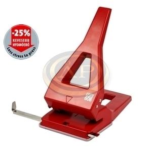 Lyukasztó SAX 608 piros max.65laphoz