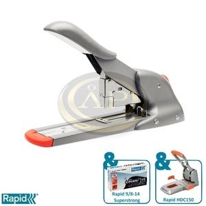 Tűzőgép Rapid HD110 ezüst/narancs max. 110 laphoz 21080815