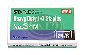 Tűzőkapocs MAX No.3-1M 24/6 1000db/doboz