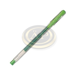 Zselés roller UNI UM-100 0,3mm zöld