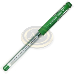 Zselés roller UNI UM-151 0,38mm zöld
