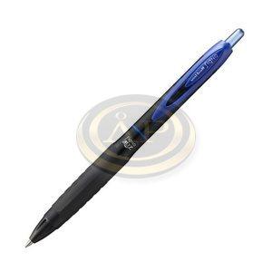 Rollertoll UNI UMN-307 kék zselés tintájú, nyomógombos, 0,4mm