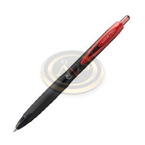 Rollertoll UNI UMN-307 piros zselés tintájú, nyomógombos, 0,4mm