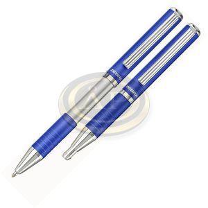 Golyóstoll SL-F1 összecsukható metál kék ZEBRA