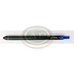 Pentel BLP437 EnerGel nyomógombos gumis testű dokument toll 0.35mm, kék