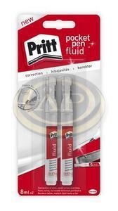 Hibajavító toll Pritt, fém heggyel, 2db/bliszter