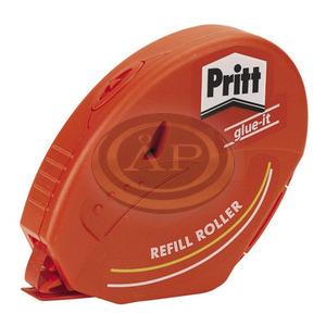 Ragasztó roller, utántölthető, tartós, 8,4 mm x 16 m, HENKEL