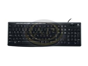 Billentyűzet Logitech K120 Keyboard fekete,USB, HUN