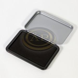 Bélyegzőpárna 10,5x7 cm, fekete