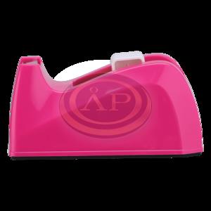 Deli Fashion pink asztali celluxtépő, max. 19mm-es ragszalaghoz