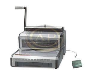 Spirálozógép Reco WB6E elektromos, fém ikerspirálhoz, 3:1 osztás